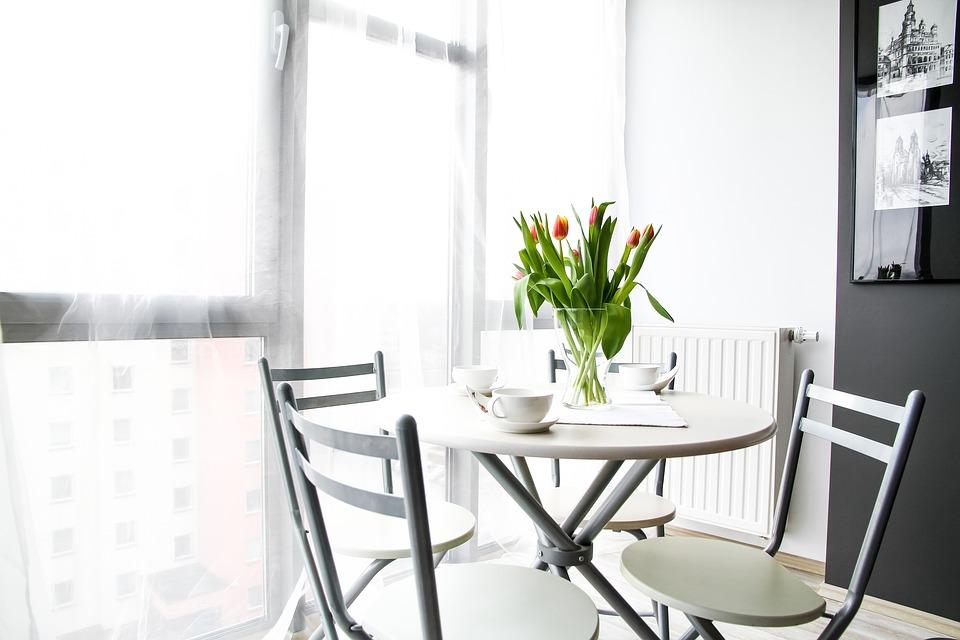aparment-small dinning room