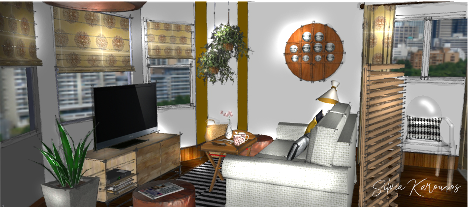 skvisualization&design living-studio-apartment